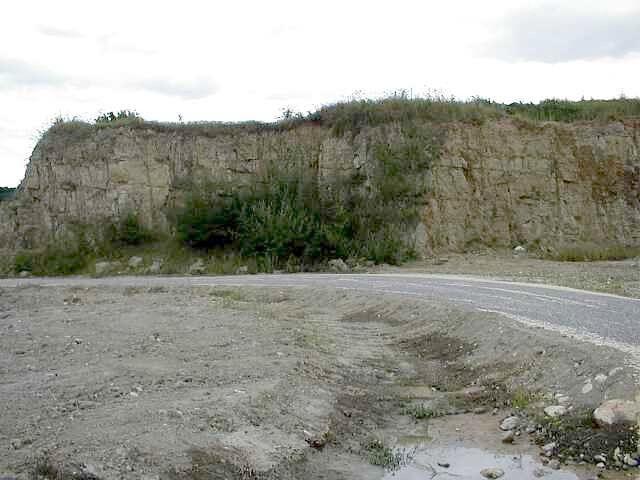 aumühle suevite quarry Ries crater