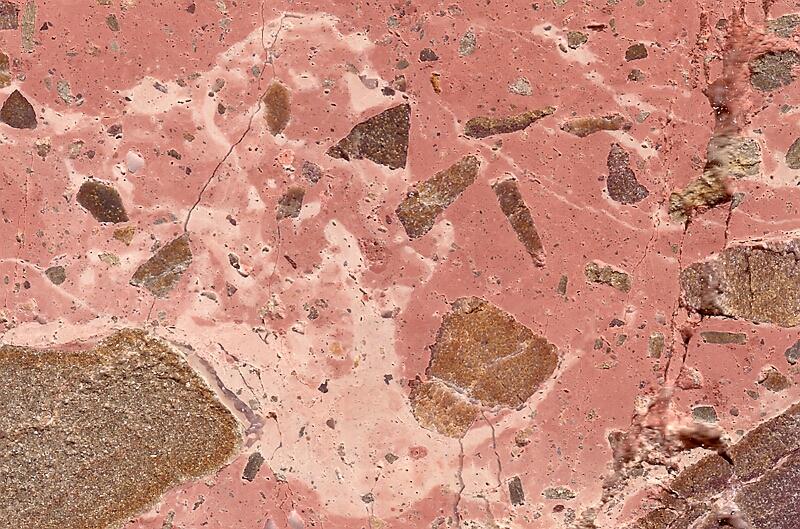 polymikte brekzie Spanien Meteoritenkrater