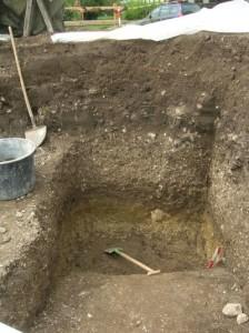 Ejekta Stöttham Chiemgau-Impakt archäologische Ausgrabung