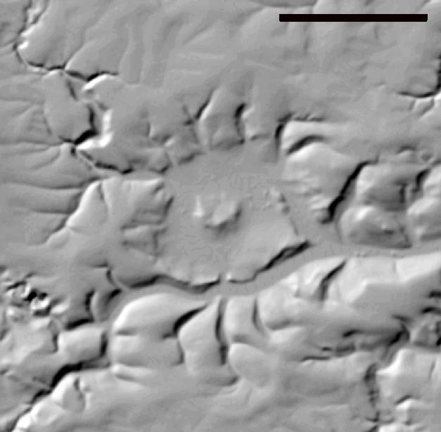Steinheimer Becken Relief