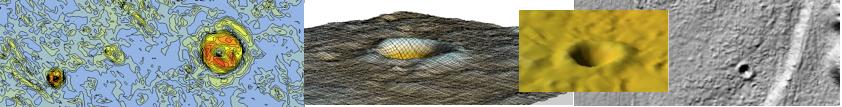 DGM 1 Meteoritenkrater