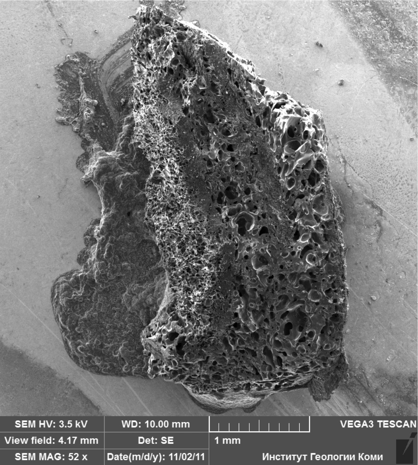 chiemite impact rock impactite Chiemgau impact even