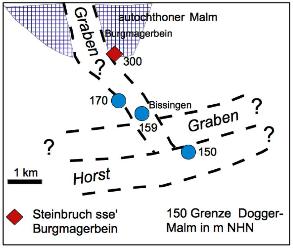 Geofantasie Blatt Bissingen Ries-Krater
